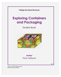 Grades K-2 Exploring Containers and Packaging – Student Book