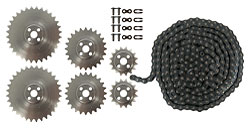 TETRIX<sup>&reg;</sup> MAX Sprocket and Chain Pack