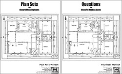 Plan Sets and Blueprint-Reading Exam (2-volume set)