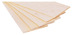 "Balsa Wood Sheets (1/32"" x 3"" x 24"")"