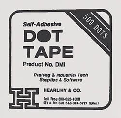 Dot Tape (box of 500)