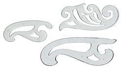 French Curves (set of 3)