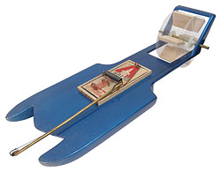 Mousetrap-Powered Boat