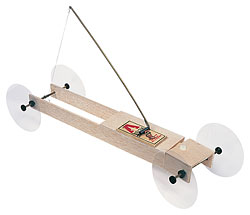 Basic Mousetrap Vehicle Kit II – with Steering
