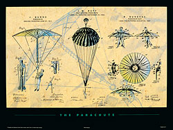 The Parachute Poster
