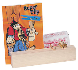Giant Super Clip Workbook