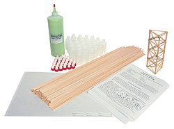 Balsa Wood TowerPak (for 10 students)