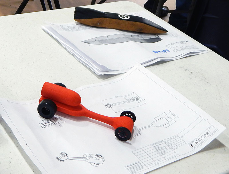 Designing A CO 2 Dragster