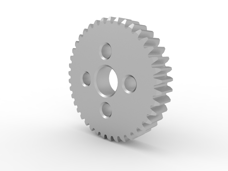 TETRIX MAX 40-Tooth Gear 3-D Animation