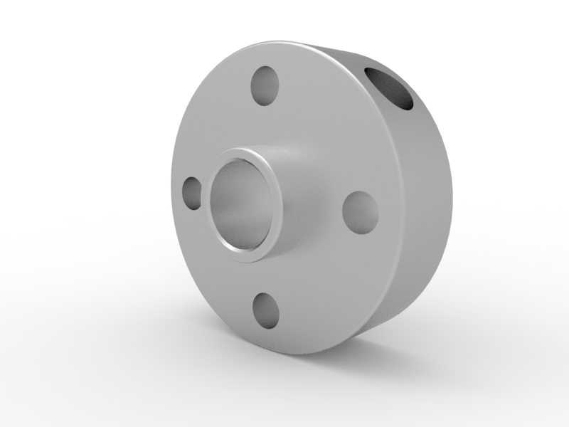 TETRIX MAX Motor Shaft Hub 3-D Animation