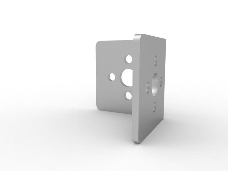 TETRIX MAX Inside Corner Bracket  3-D Animation