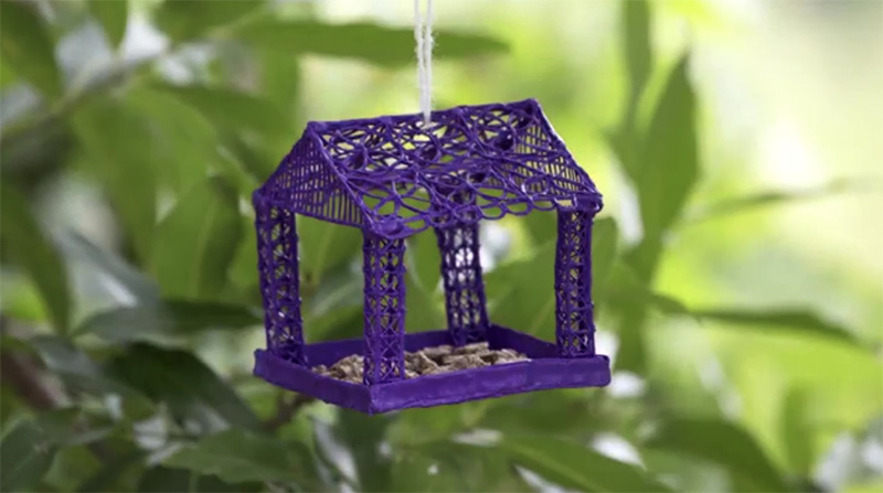 3Doodler Tutorial: Bird Feeder