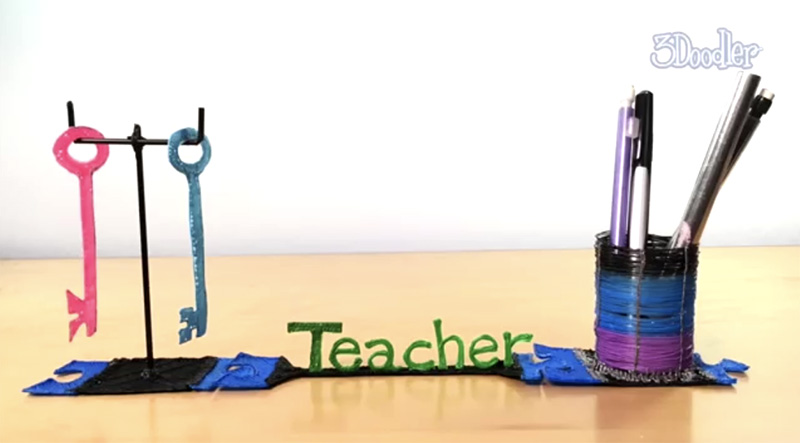 3Doodler Tutorial: Desk Organizer
