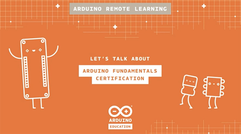 Introducing the Arduino Fundamentals Certification
