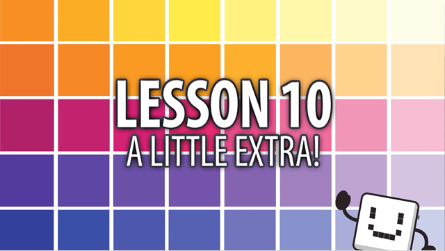 Code Cube Lesson 10: A Little Extra!