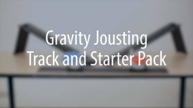Gravity Jousting Track and Starter Pack