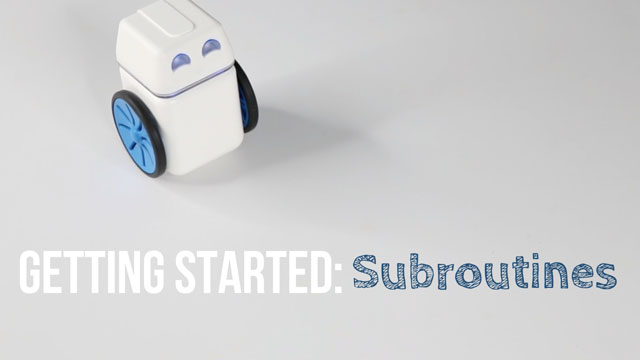 KUBO – Getting Started: Subroutines