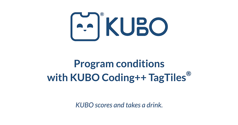 KUBO Coding++: Program Conditions