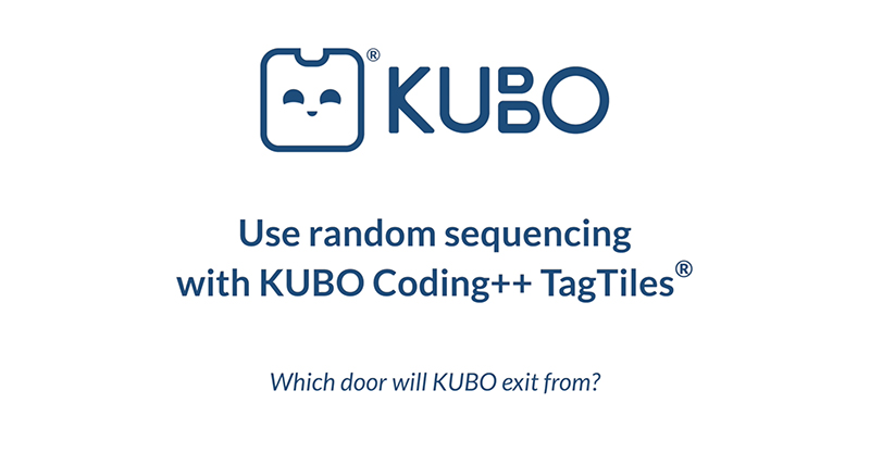 KUBO Coding++: Use Random Sequencing