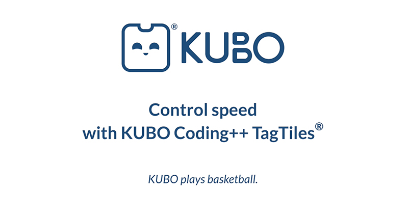 KUBO Coding++: Control Speed