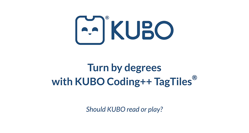 KUBO Coding++: Turn by Degrees
