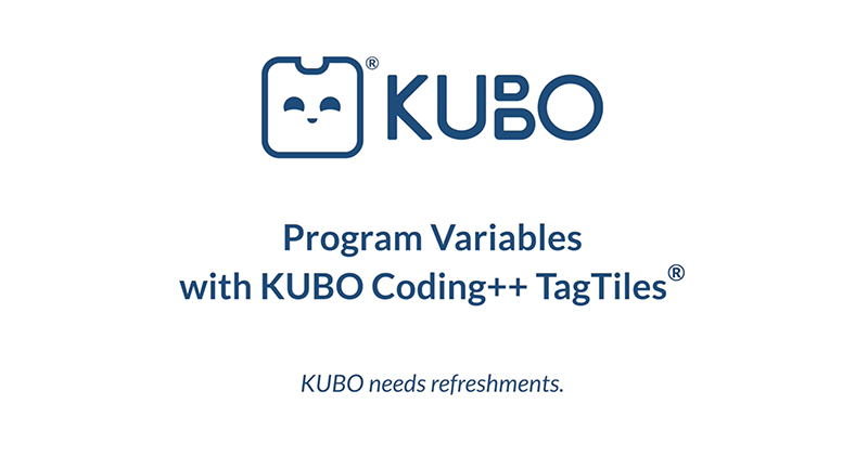 KUBO Coding++: Program Variables