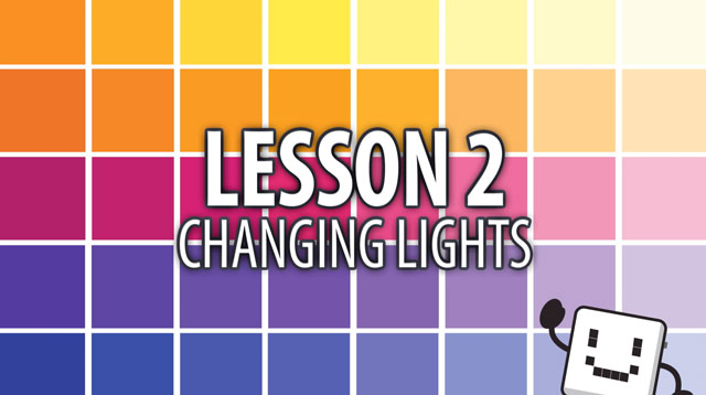 Code Cube Lesson 2: Changing Lights