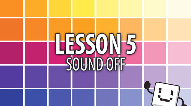 Code Cube Lesson 5: Sound Off