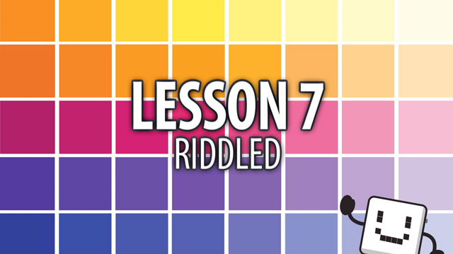 Code Cube Lesson 7: Riddled