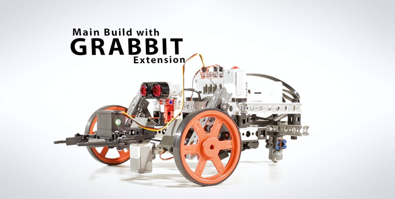 Main Build with Grabbit Extension | PRIME with EV3