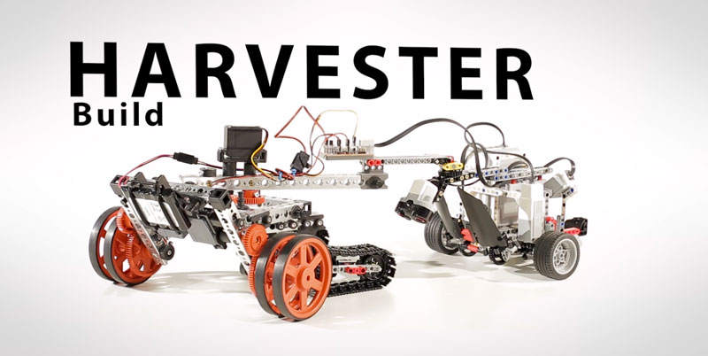 Harvester Build | PRIME with EV3