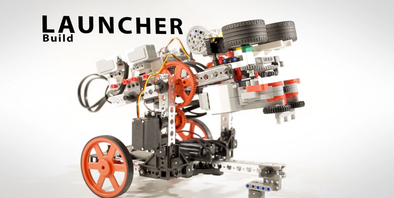 Launcher Build | PRIME with EV3