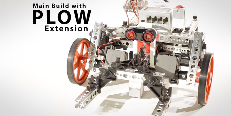 Main Build with Plow Extension | PRIME with EV3