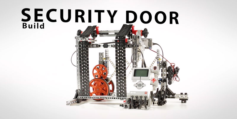 Security Door | PRIME with EV3