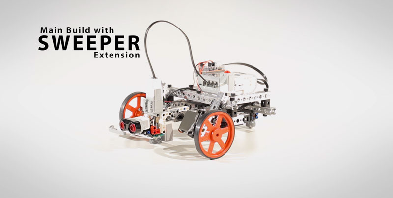 Main Build with Sweeper Extension | PRIME with EV3