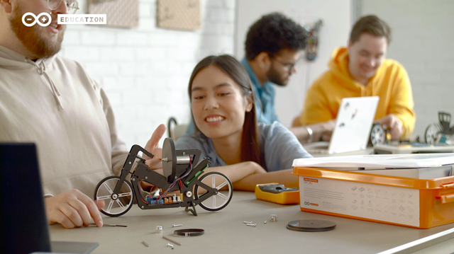 Arduino Engineering Kit Rev 2: Bring Project-Based Learning (and Fun!) to Your Engineering Lab