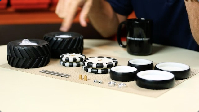 RoboBench: MAX Wheel Pack and Hub & Axle Pack