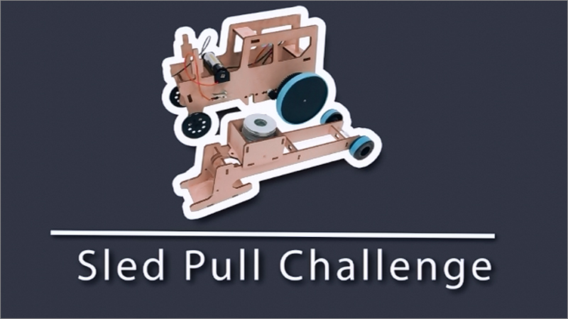 Educator Review: Sled Pull Challenge