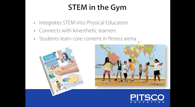 Webinar: Teaching STEM Through Physical Education