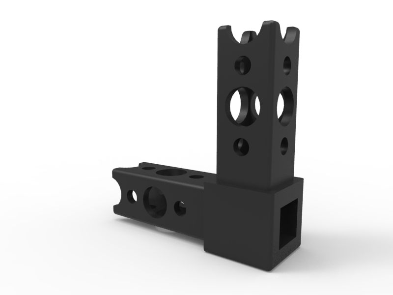 TETRIX PRIME 90-Degree Beam Connector 3-D Animation