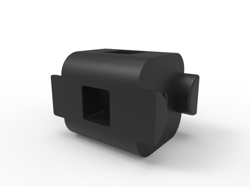 TETRIX PRIME Straight Block Beam Connector 3-D Animation