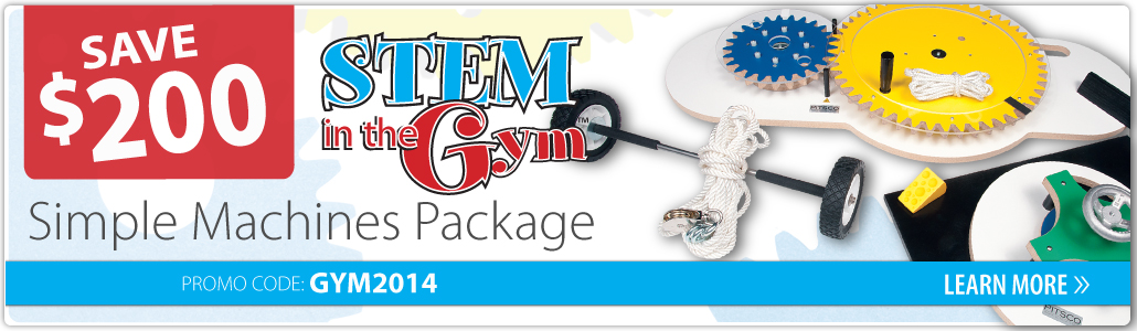 STEM in the Gym promotion
