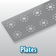 Aluminum plates for PRIME and MAX offer building options
